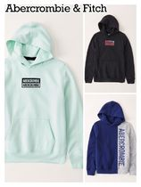 Abercrombie & Fitch(アバクロ) キッズ用トップス Abercrombie & Fitch ☆ 新作商品!! ☆ ロゴパーカー 3色!!