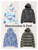 Abercrombie & Fitch(アバクロ) キッズ用トップス Abercrombie & Fitch ☆ 新作商品!! ☆ ロゴパーカー 4色!!