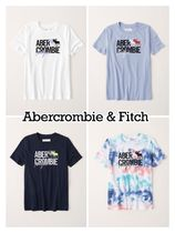Abercrombie & Fitch(アバクロ) キッズ用トップス Abercrombie & Fitch ☆ 新作商品!! ☆ ロゴTシャツ 4色!!