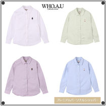 WHO.A.U(フーアーユー) シャツ 日本未入荷WHO.A.Uの スティーブアンバランスシャツWHYAB2322F