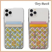 国内発送【Tory Burch】ROBINSON PRINTED PHONE CARD POCKET