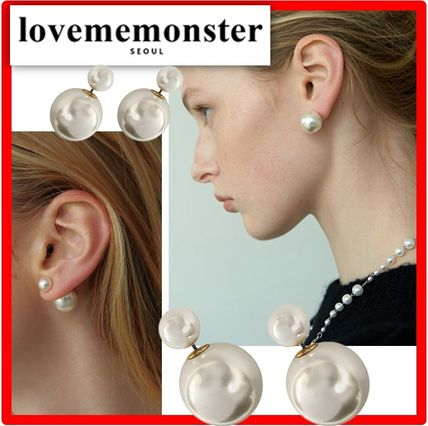 ☆人気☆【LOVE ME MONSTER】☆Pearl & Pearl Earring.s☆ピアス