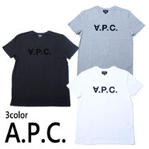 A.P.C.(アーペーセー) Tシャツ・カットソー 国内発送 A.P.C. Tシャツ H26586 H26943 メンズ アーペーセー