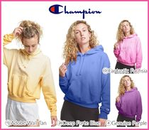 最新作!! ★CHAMPION★ Powerblend Fleece Ombre Relaxed Hoodie