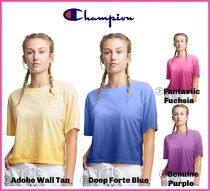 2021SS最新作!! ★CHAMPION★ Cropped Ombre Tee