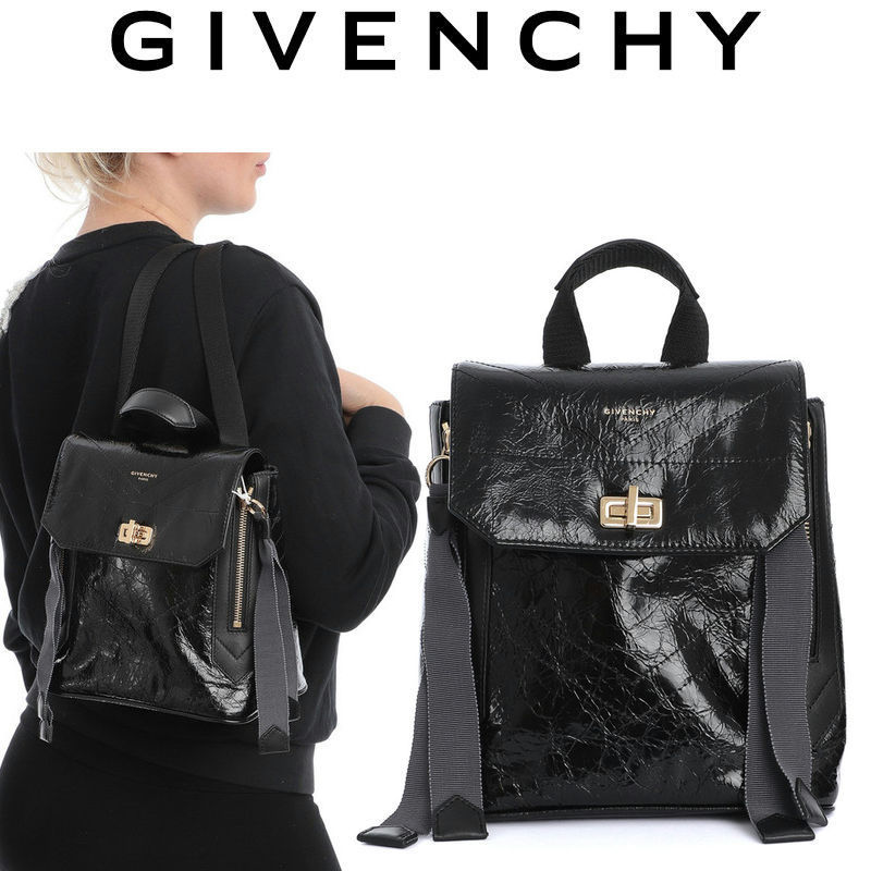 GIVENCHY ID バックパック ミニ カーフ レザー BB50BRB0S5 (GIVENCHY/バックパック・リュック) BB50BRB0S5-001  BB50BRB0S5  BB50BRB0S5001