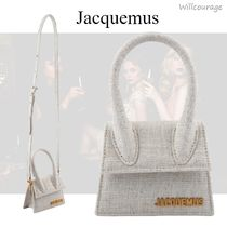 【Jacquemus】Le chiquito ミニキャンバスバッグ