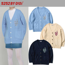 2021SS新作★5252 by oioi★OVERSIZED CABLE KNIT CARDIGAN_3色