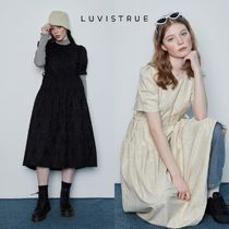 【LUV IS TRUE】 IN SHIRRING OPS ワンピース