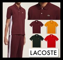 【Lacoste】人気 新作 Ricky Regal コラボ ロゴ ポロシャツ
