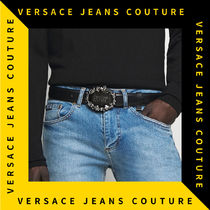 【Versace Jeans Couture】バロック ウエスタン レザー ベルト