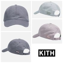 KITH NYC☆Washed Twill Classic Logo Cap ロゴ キャップ