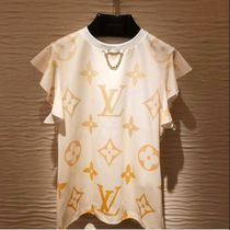 SS21 新作 直営店★Louis Vuitton★ラッフルスリーブ Tシャツ