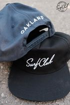 ★OAKLAND SURF CLUB NEW WAVE SNAPBACK ロゴ キャップ 送料込★