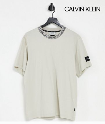 【Calvin Klein】Neck logo relaxed fit ネック ロゴ 半袖Tee