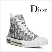 DIOR HOMME(ディオールオム) スニーカー 新シーズンSS21【Dior Homme】B23 Oblique High-Top Sneakers