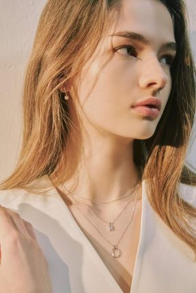 Hei ネックレス・ペンダント 韓国発【Hei】baguette layered necklace☆追跡付(4)