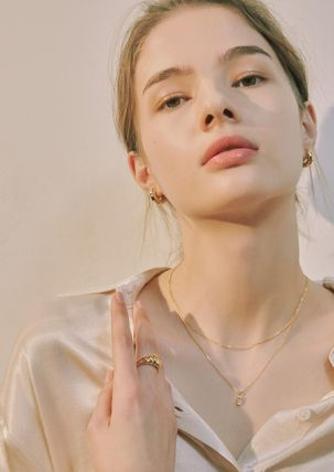 Hei ネックレス・ペンダント 韓国発【Hei】baguette layered necklace☆追跡付(8)
