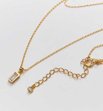 Hei ネックレス・ペンダント 韓国発【Hei】baguette layered necklace☆追跡付(15)