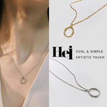 韓国発【Hei】haze pendant necklace☆追跡付