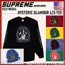 Supreme X HYSTERIC GLAMOUR L/S Tee SS 21 WEEK 4