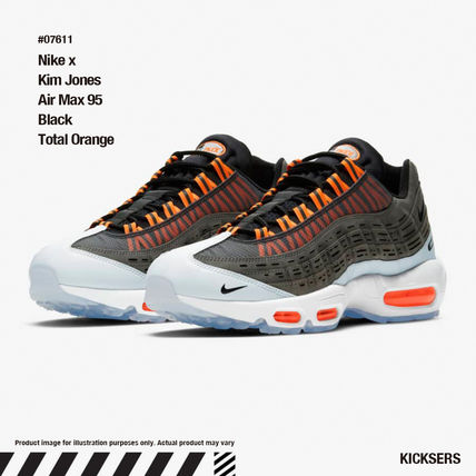 人気話題コラボ!Nike x Kim Jones Air Max 95 Total Orange