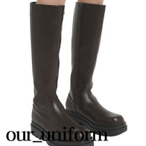 ASCLO(エジュクロ) ロングブーツ [our] Newman Long Boots (2color)