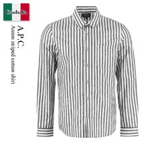 A.P.C. Anton striped cotton shirt
