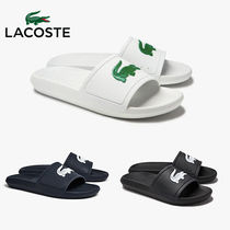 LACOSTE ラコステ Water-repellent Synthetic スライドサンダル