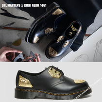 Dr Martens x KING NERD 1461 BLACK SMOOTH★コラボ★兼用