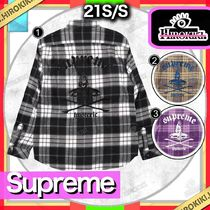 21SS /Supreme × HYSTERIC GLAMOUR Plaid Flannel Shirt シャツ