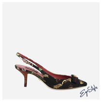 SLINGBACK IN TESSUTO PATCHWORK
