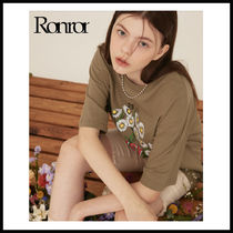 ☆RONRON☆ DAISE OVER FIT T-SHIRT 2 COLOR