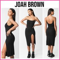 LA発!! SEXYxSPORTY♪ ★JOAH BROWN★ STRAPPY SLIT DRESS
