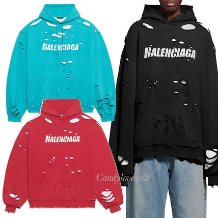 BALENCIAGA Caps Destroyed フーディー