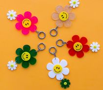 【FUNNYMADE】Smile Flower キーリング