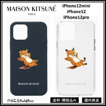 *MAISON KITSUNE*Chillax iPhone12mini/12/12pro ケース*関送込