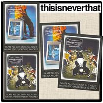 thisisneverthat(ディスイズネバーザット) ポスター ★関税込★thisisneverthat★WY x TNT Risograph Poster 2.P★
