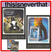 thisisneverthat(ディスイズネバーザット) ポスター ★人気★【thisisneverthat】★WY x TNT Risograph Poster 2.P★