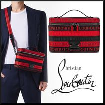 Christian Louboutin  Kypipouch ハンドバッグ ブラックレッド