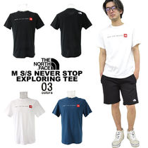 海外限定THE NORTH FACEノースフェイスNEVER STOP EXPLORING TEE