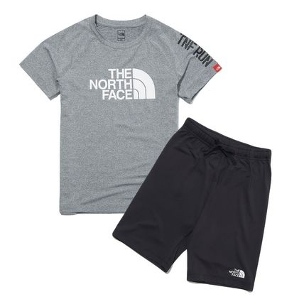 THE NORTH FACE キッズ用トップス THE NORTH FACE K'S SUN FREE BIG LOGO LOUNGE SET MU2192追跡付(2)