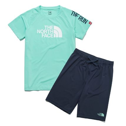 THE NORTH FACE キッズ用トップス THE NORTH FACE K'S SUN FREE BIG LOGO LOUNGE SET MU2192追跡付(13)
