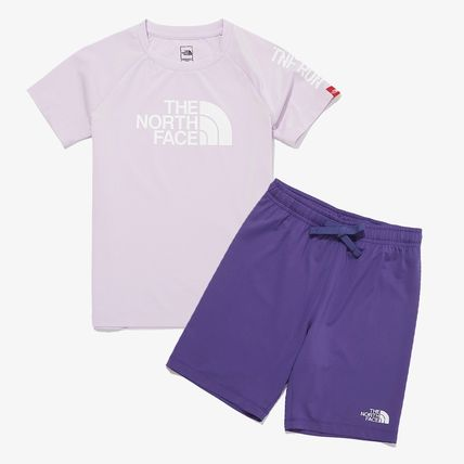 THE NORTH FACE キッズ用トップス THE NORTH FACE K'S SUN FREE BIG LOGO LOUNGE SET MU2192追跡付(14)