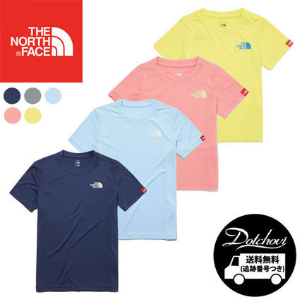 THE NORTH FACE キッズ用トップス THE NORTH FACE K'S EDGEWATER S/S R/TEE MU2197 追跡付