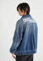 JackJones FLA-JI BROTHER MED DENIM JACKET-STブルー