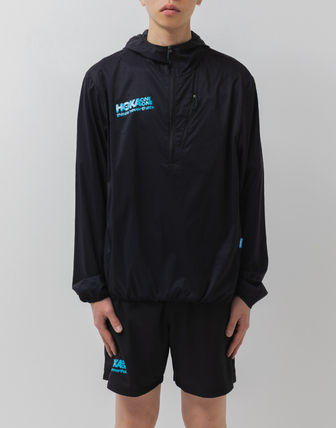 [thisisneverthat X HOKA] / Wind-Resistant Hooded Pullover