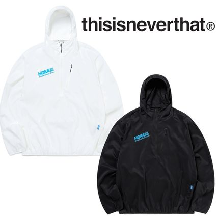 ★thisisneverthat★TNT HOKA Wind-Resistant Hooded Pullover