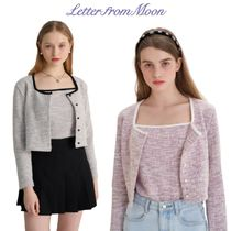 【Letter from Moon】Spring Tweed Cardigan & Buistier SET