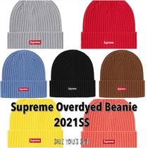 ★2021SS WEEK4★Supreme Overdyed Beanie